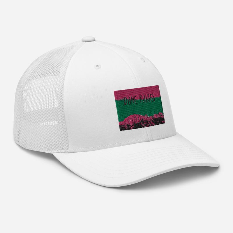 Trucker Cap (Dune Pulses - Zion green sky)