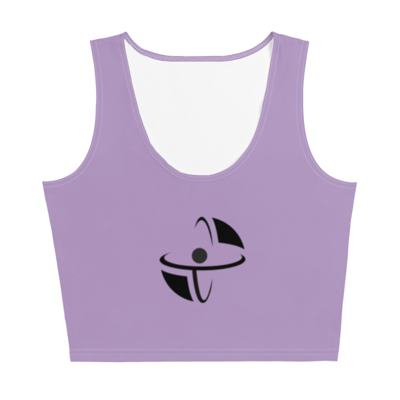 CDMG Custom Crop Top Purple