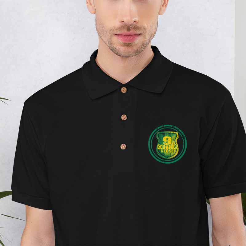 9CC Embroidered Polo Shirt