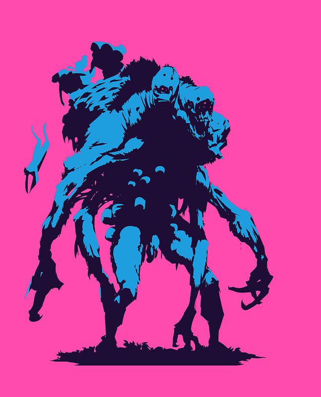 Beast & Pink - Enhanced Matte Paper Poster 16×20