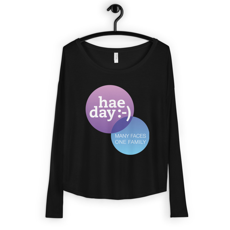 Apparel - hae day :-) Ladies' Long Sleeve Tee