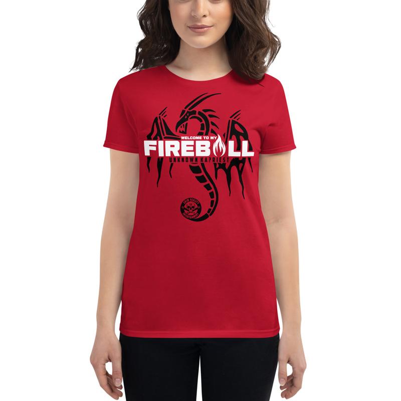 """Unknown Kapriest """"Fireball"""" Women's Shirt"""