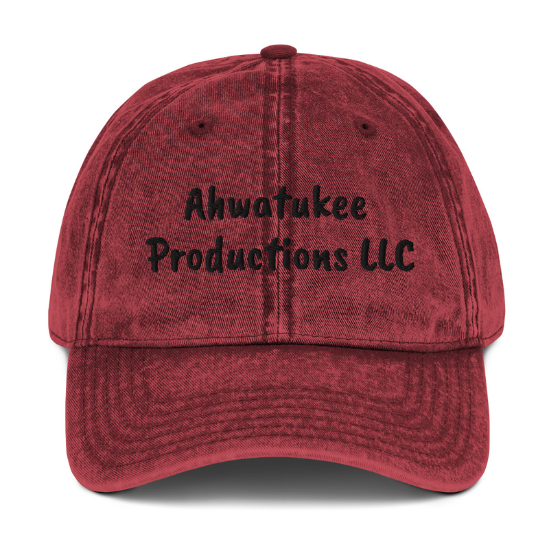 Ahwatukee Productions LLC - Vintage Cotton Twill Cap