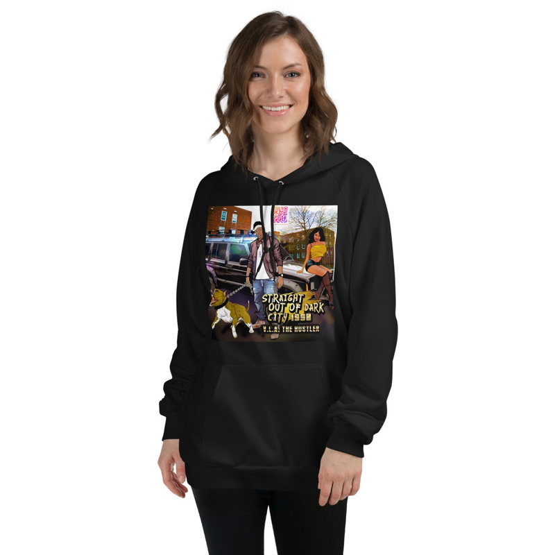 DARK CITY   Unisex Fleece Hoodie