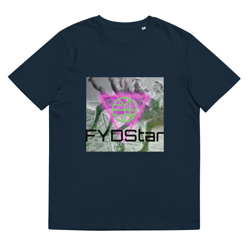 FYDStar's Flying Ladies who Kick - Unisex organic cotton t-shirt
