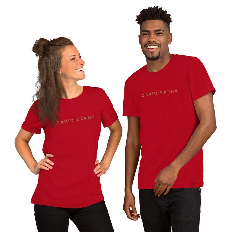 Short-Sleeve Unisex T-Shirt - David Karns