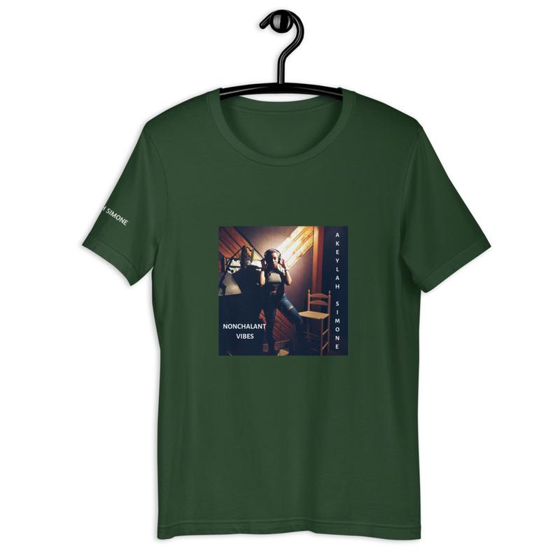 NONCHALANT VIBES Short-Sleeve Unisex T-Shirt