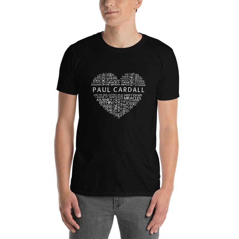 Paul Cardall Heart Short-Sleeve Unisex T-Shirt