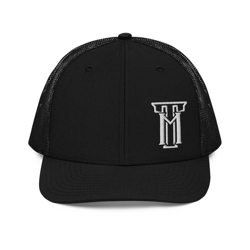 TM Logo Black TruckerCap