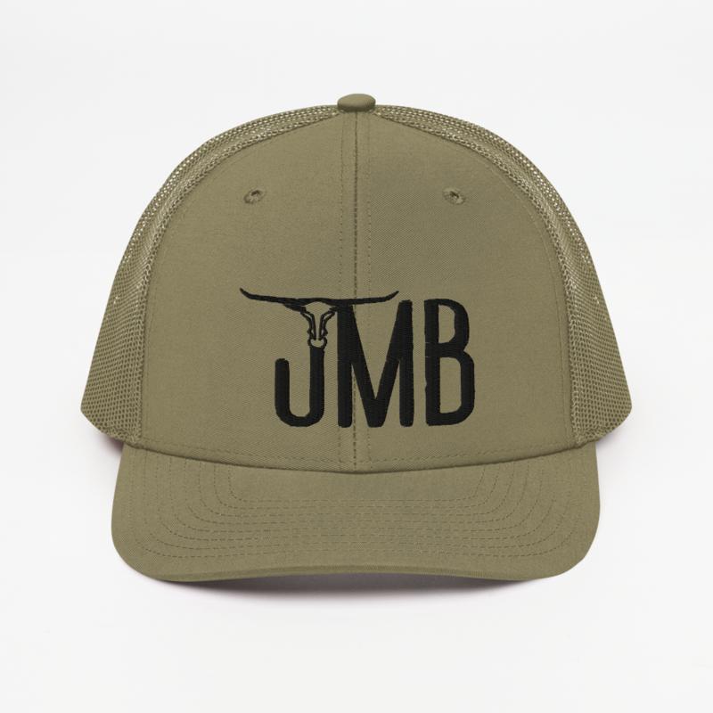 JMB Longhorn Snapback Trucker Hat - Centered Logo