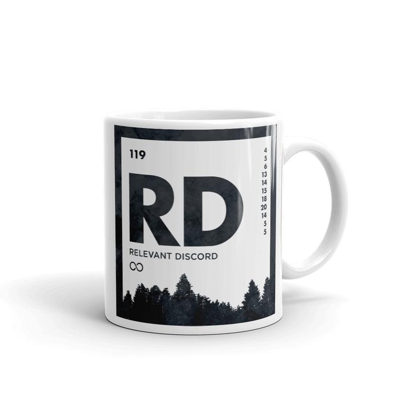 An Element of Discord Mug (Icy Black)
