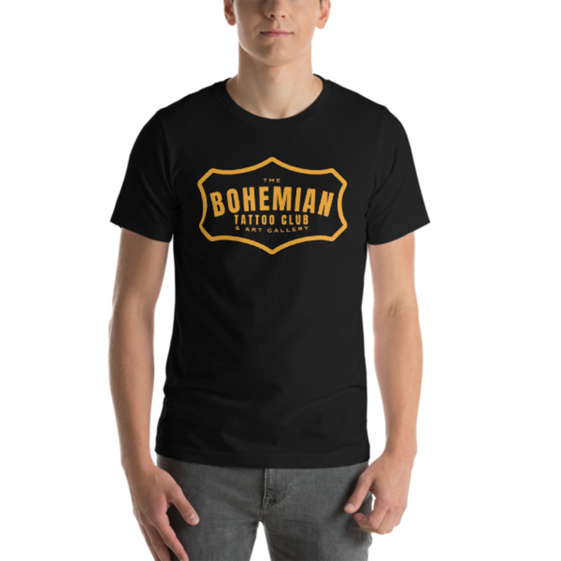 Bohemian Gold! Short-Sleeve Unisex T-Shirt - Black