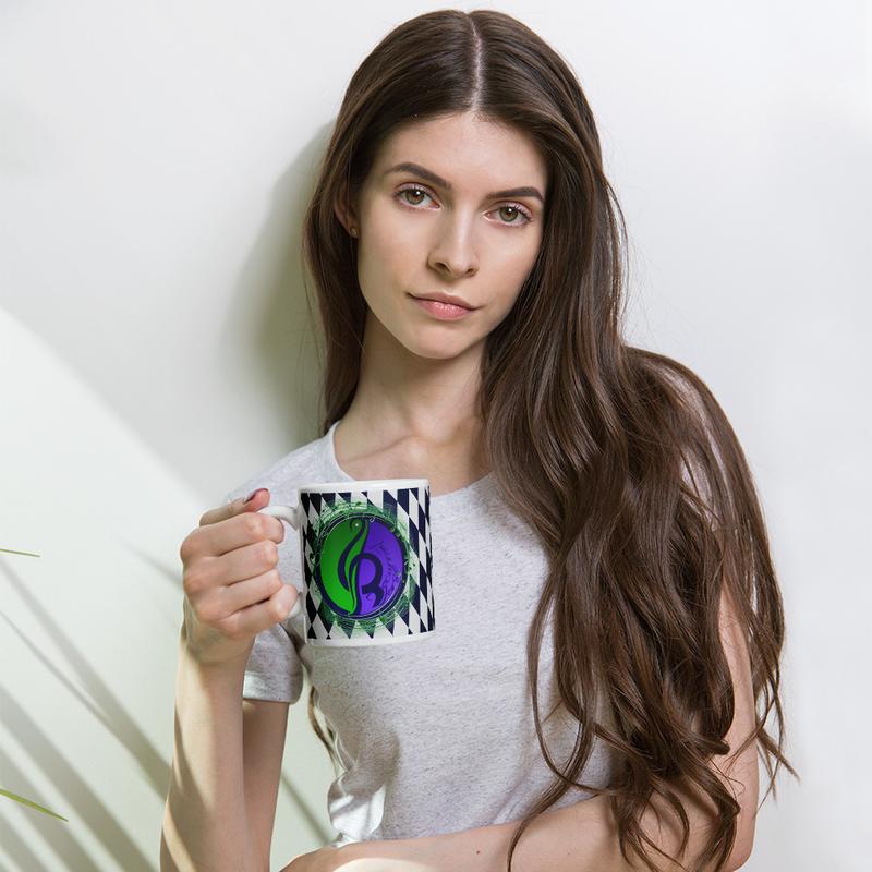 Checkered Logo Mug