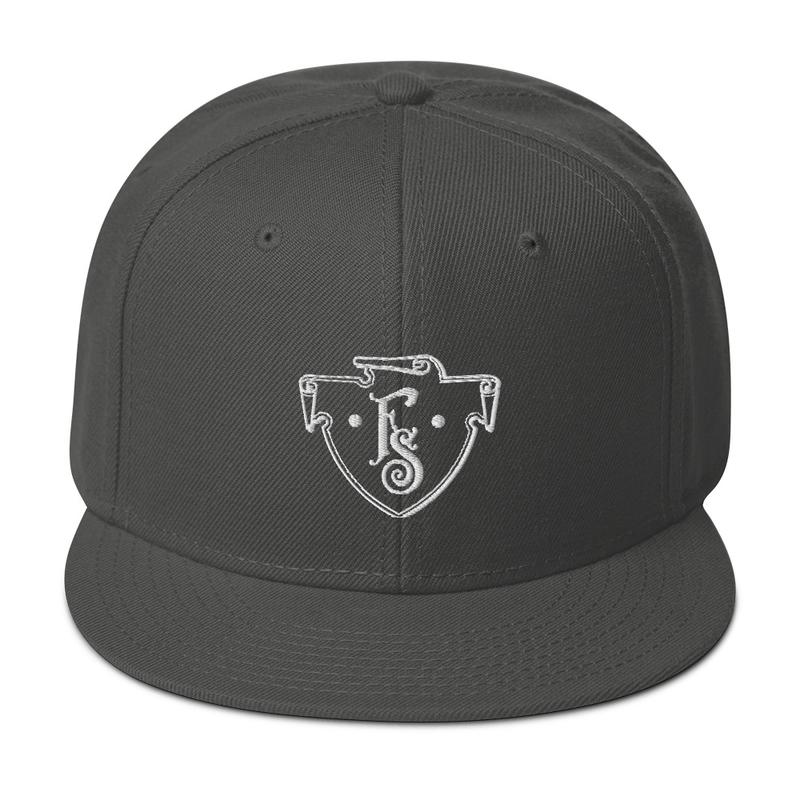 FS Crest Snapback Hat (Charcoal Gray)