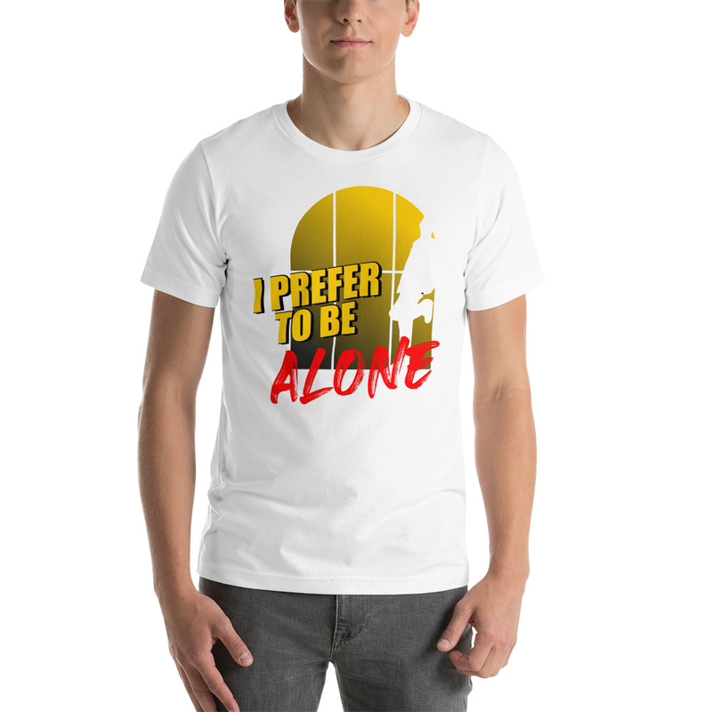 Alone Short-Sleeve Unisex T-Shirt