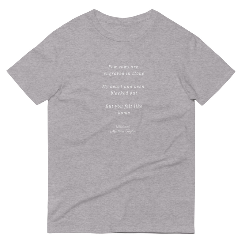"""Destined"" Lyrics T-Shirt"