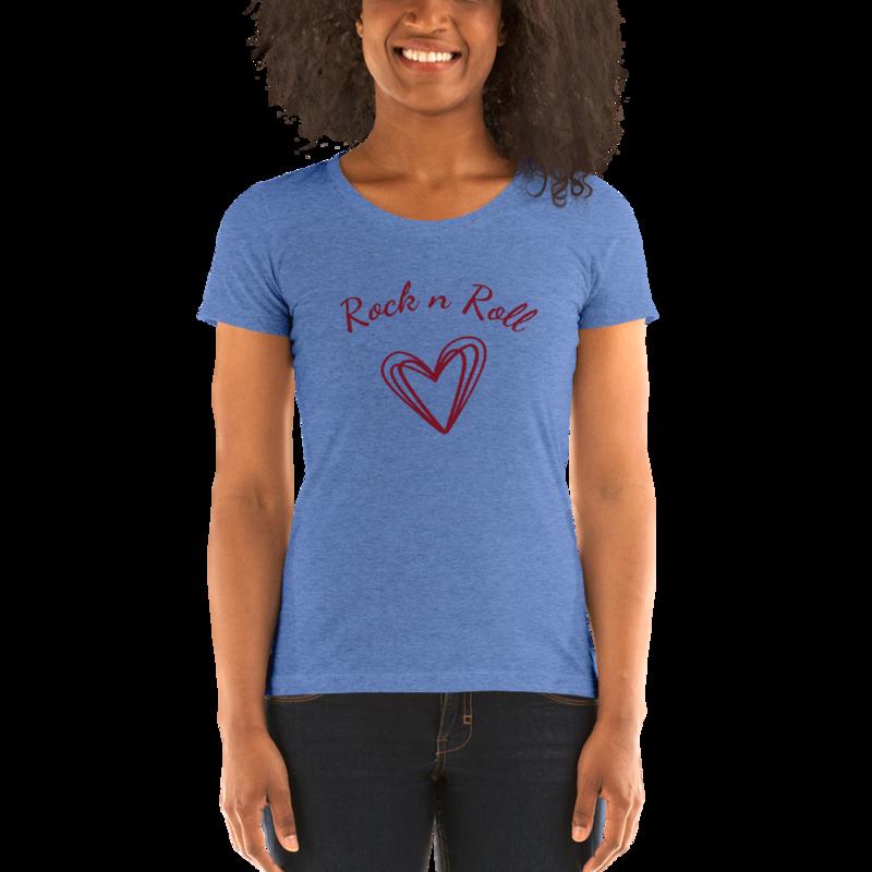 Ladies' short sleeve Valentines t-shirt
