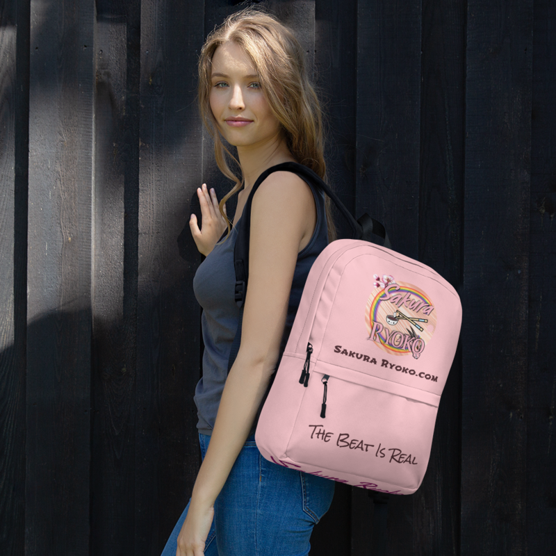 Backpack (The Beat Is Real Pink)
