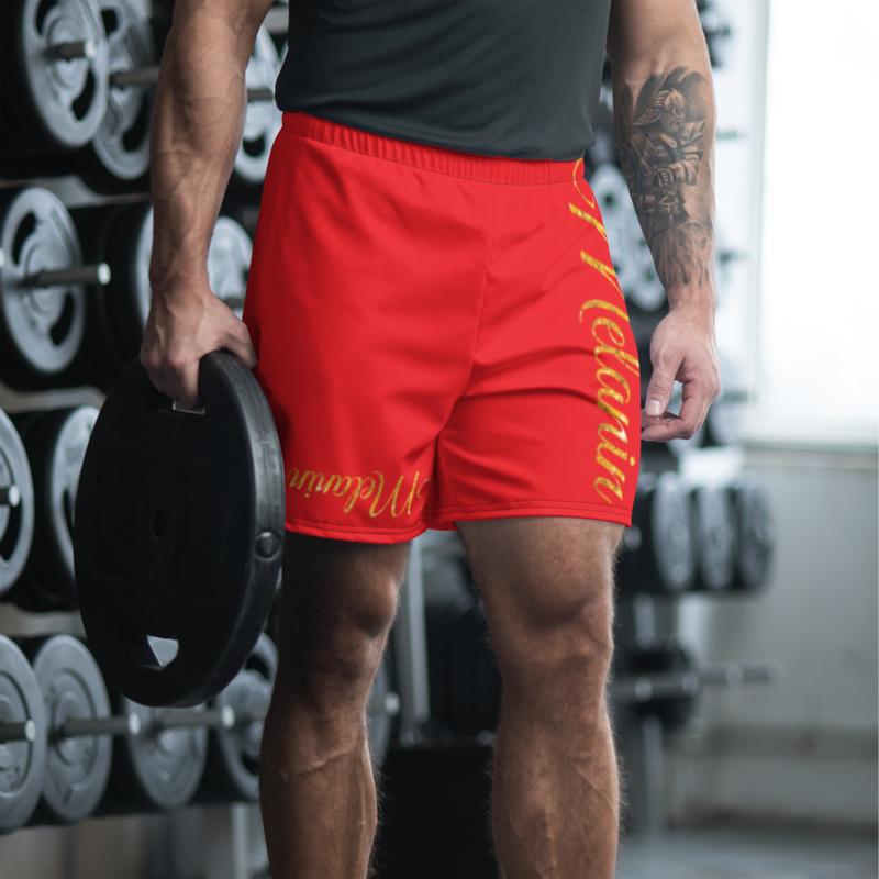 Melanin Men's Athletic Long Shorts