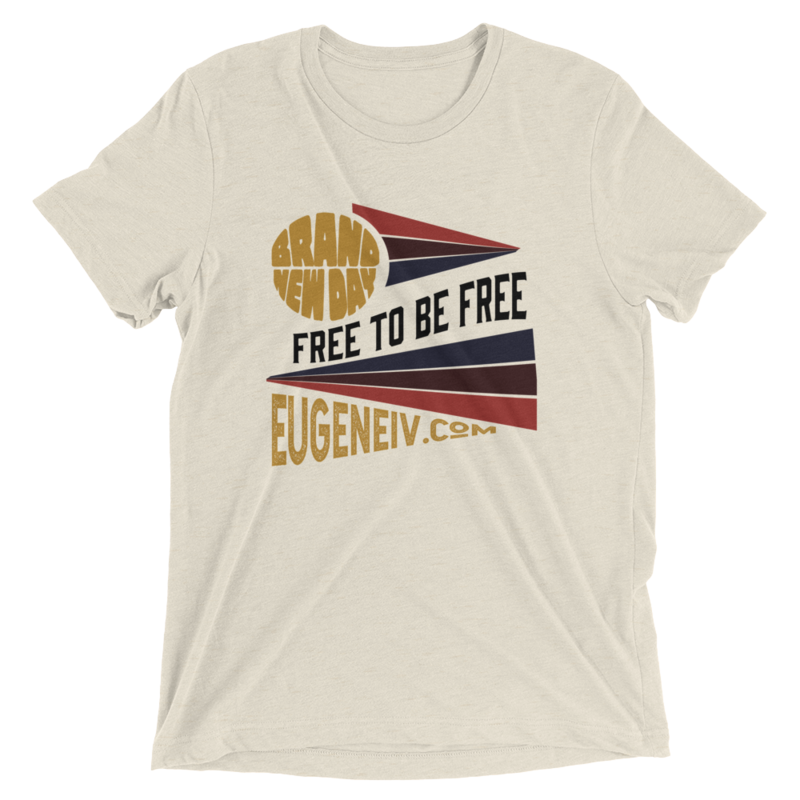 """Brand New Day """"Free To Be Free"""" (unisex tee)"""
