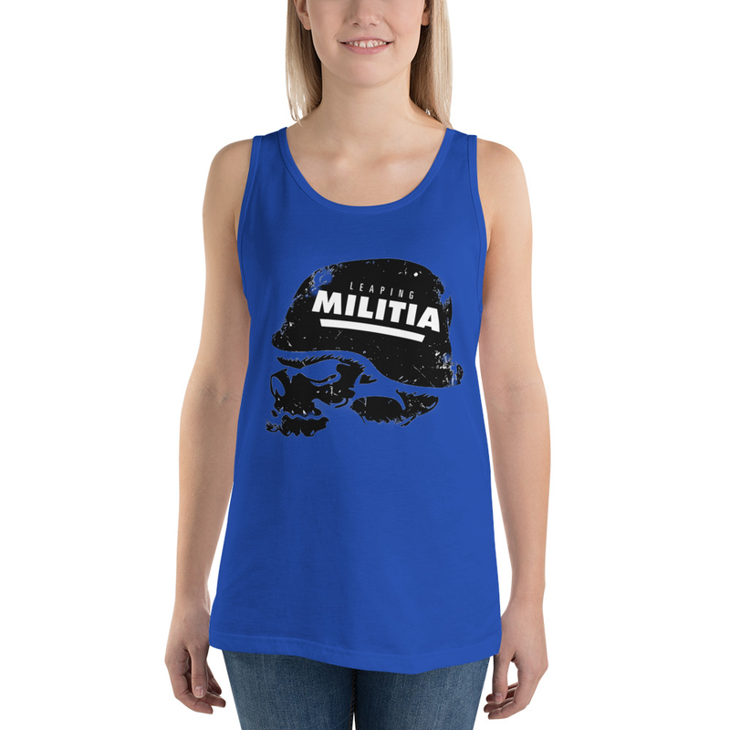 Leaping Militia Team Unisex Tank Top