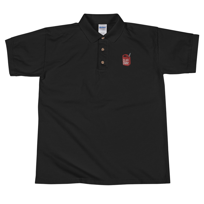 EMBROIDERED GAS CAN POLO