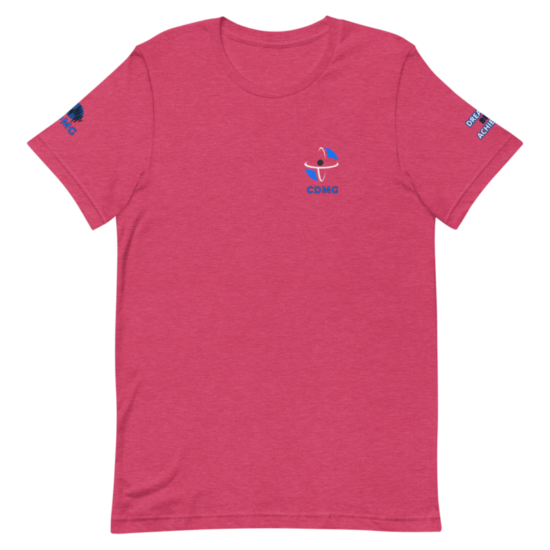 Short-Sleeve Unisex T-Shirt Heather Raspberry