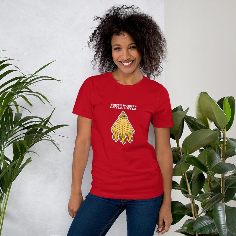 Truth Rocket Layla Layla Short-Sleeve Unisex T-Shirt
