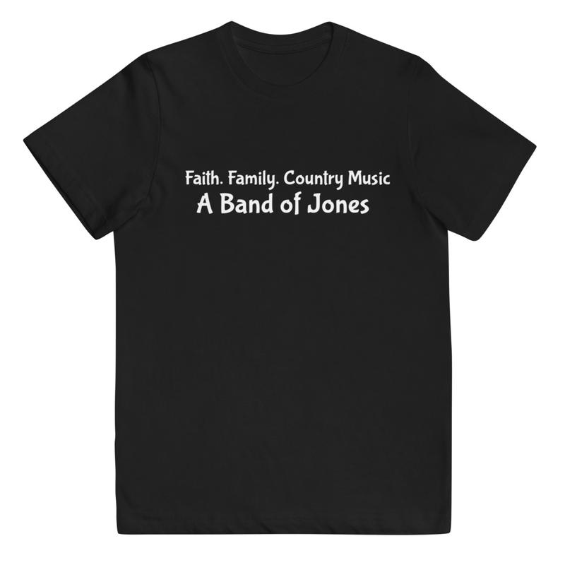 "Youth ""Faith. Family. Country Music."" Tee"