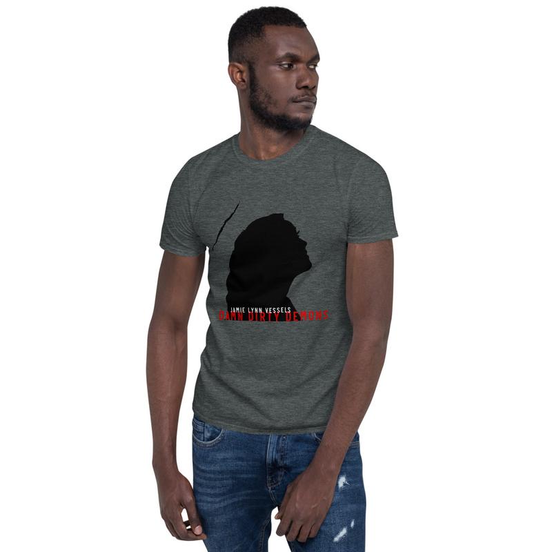 """Damn Dirty Demons"" Unisex T-shirt - black logo"