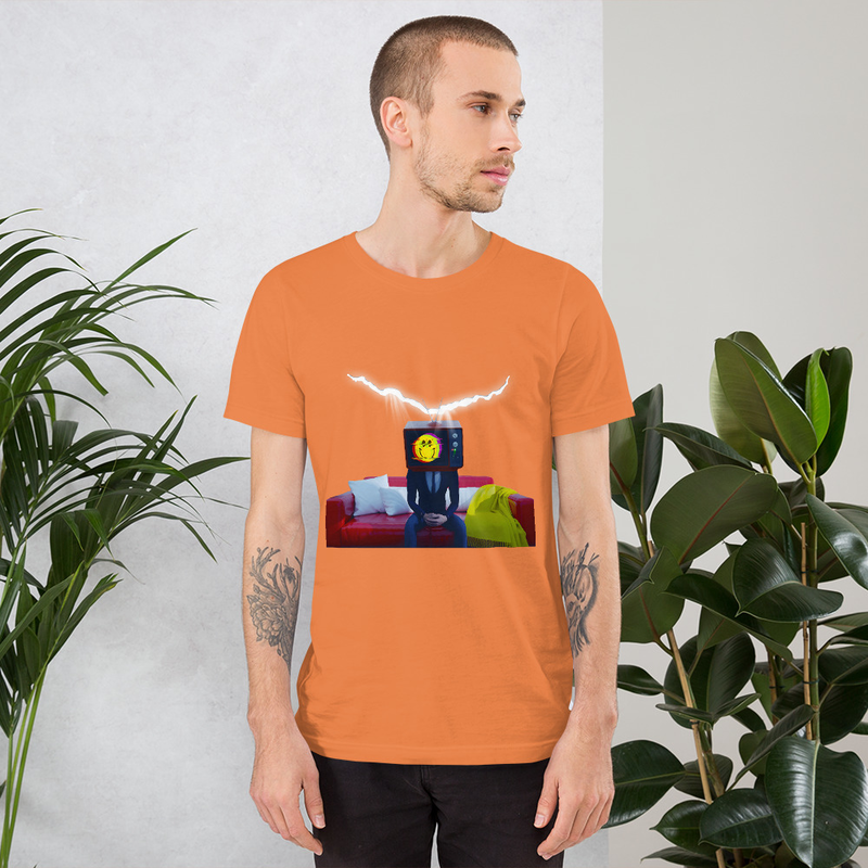 Inadequate Smile - Short-Sleeve Unisex T-Shirt