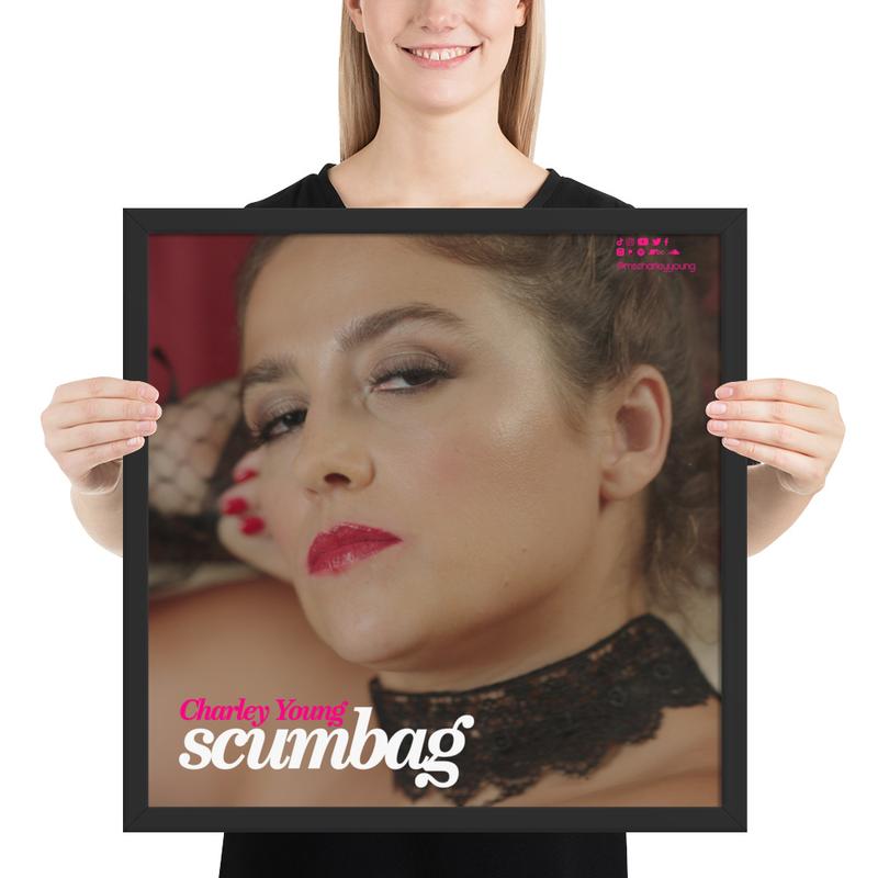 Scumbag Framed Poster