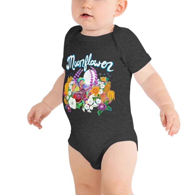 Baby Moonflower Onesie