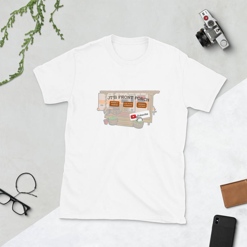 JTs Front Porch YT Subscribe Short-Sleeve Unisex T-Shirt