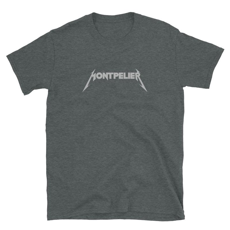 Montpelier - Short-Sleeve Unisex T-Shirt