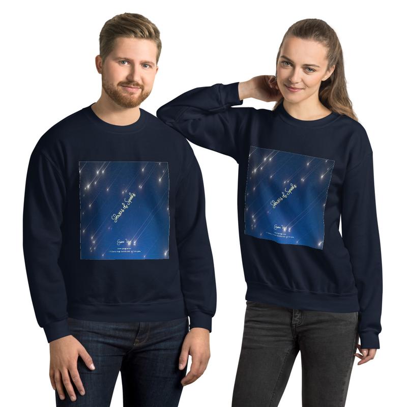Showers Of Sparks Unisex Sweatshirt