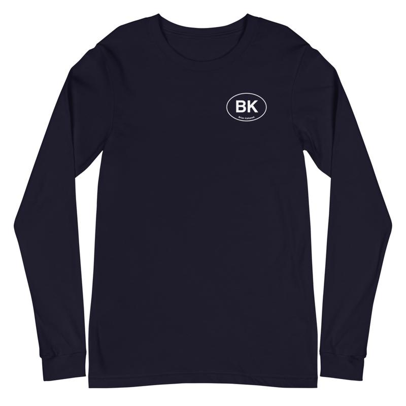 BK Coming Home Travel - Unisex Long Sleeve Tee (Cover art on back)