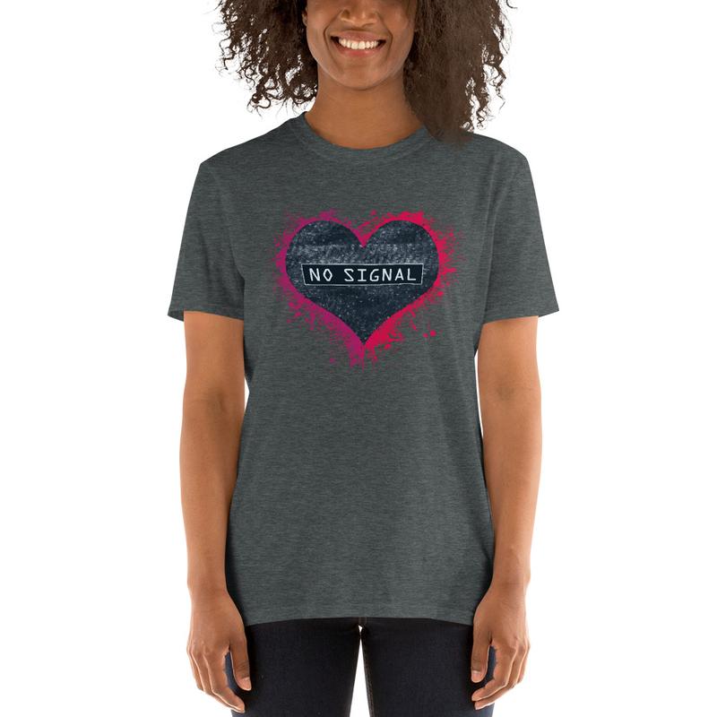 Heart Static (Unisex T-Shirt)