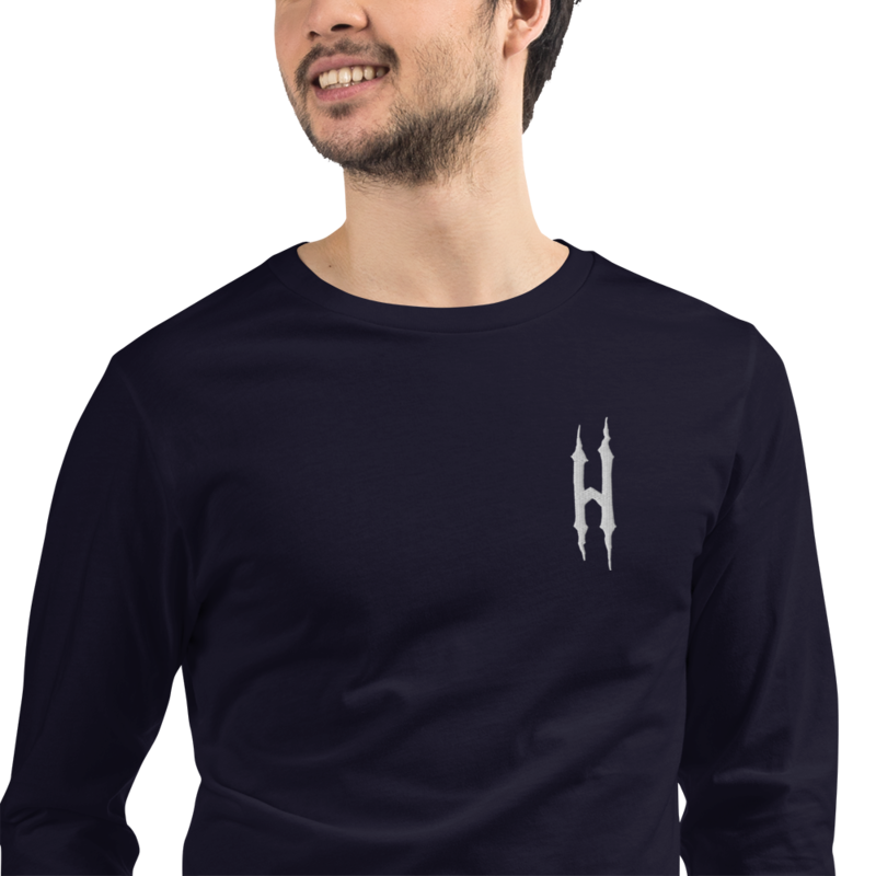 HONESTGANG Embroidered Unisex Long Sleeve