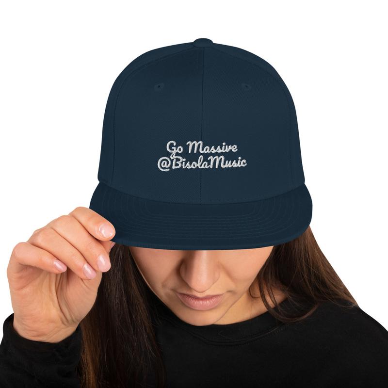 Snapback Hat - Go Massive