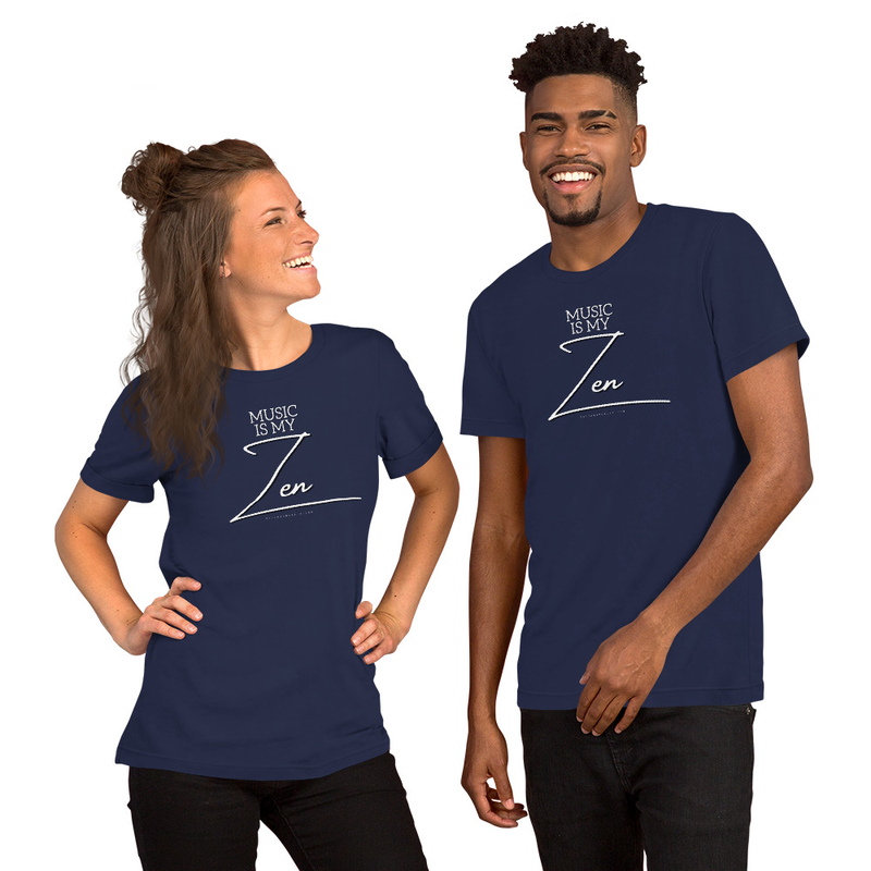 Music Is My Zen Short-Sleeve Tee (Unisex)