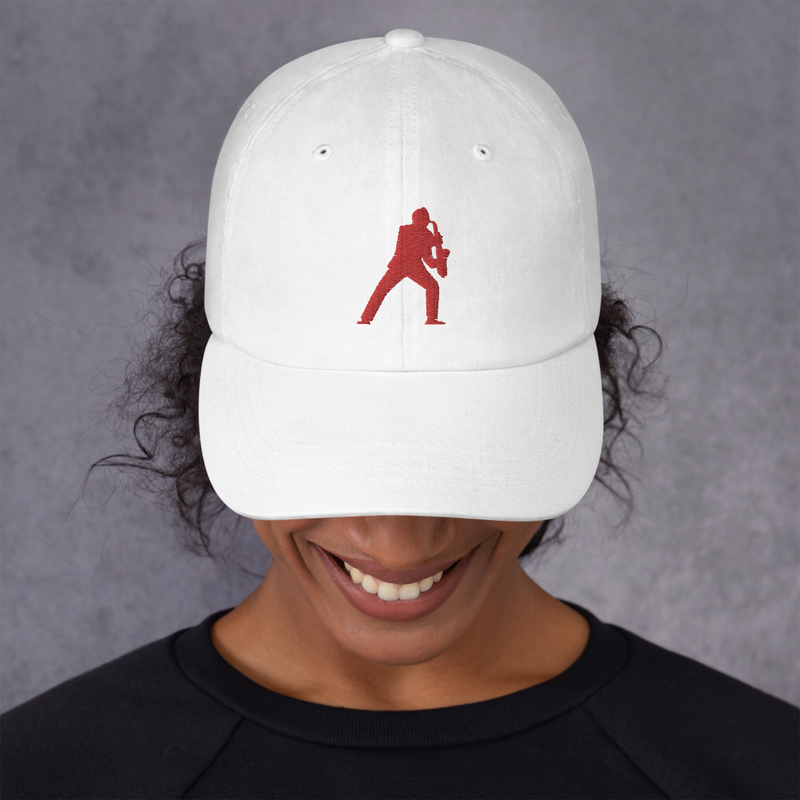 Sax Man Cotton Cap (Available in more colors)