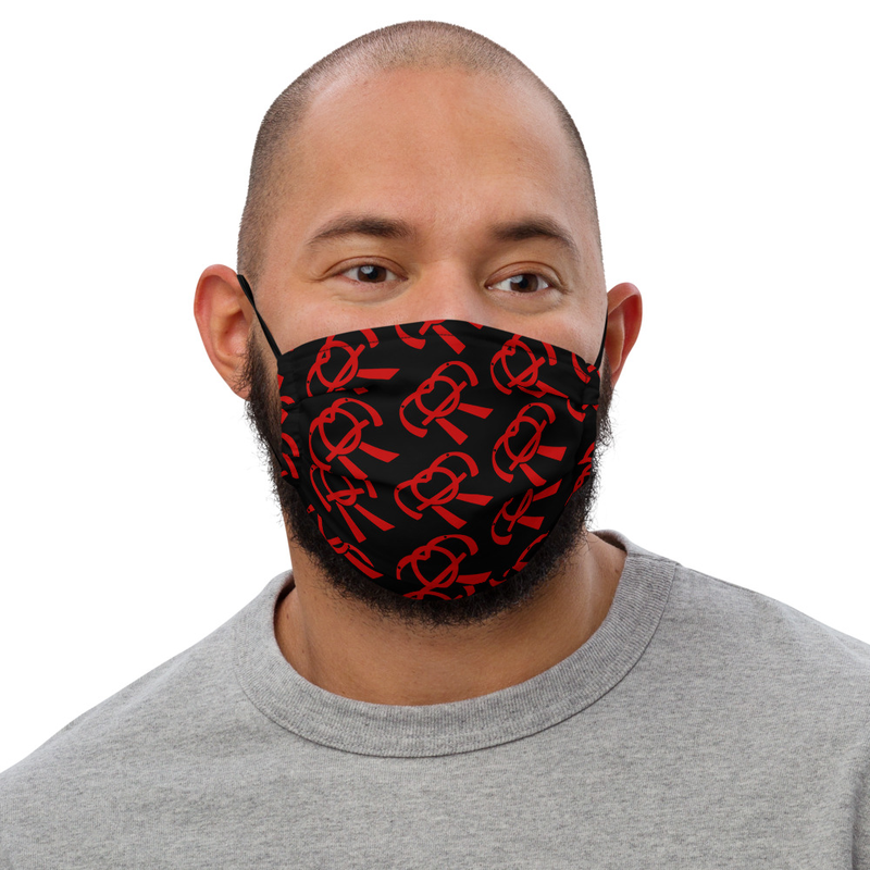Birch Riley Logo Face Mask