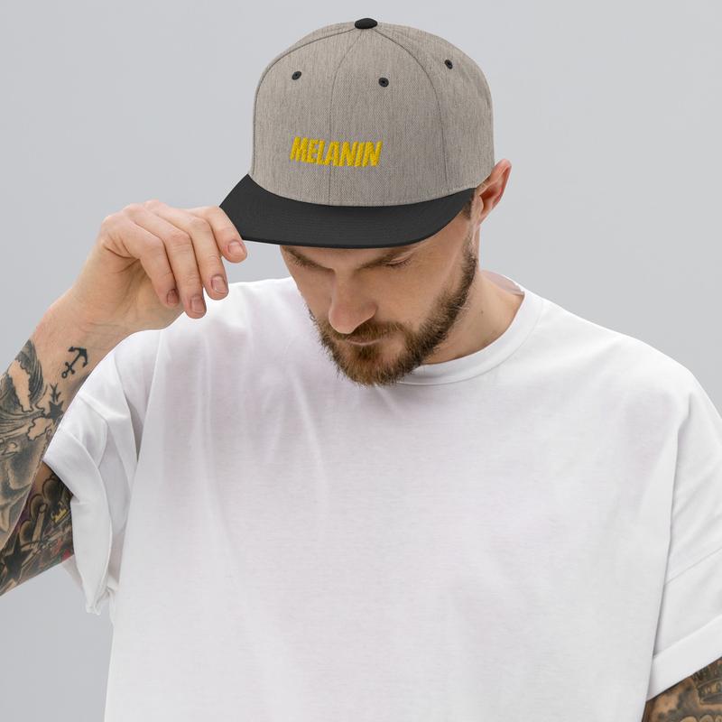 Melanin Snapback Hat