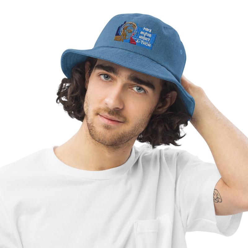 Mikeinthenight-Athon Denim bucket hat