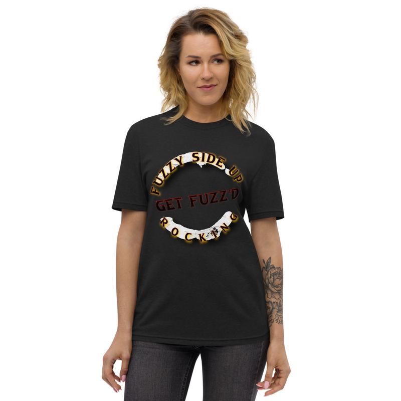 Unisex Fuzzy Side Up T-Shirt