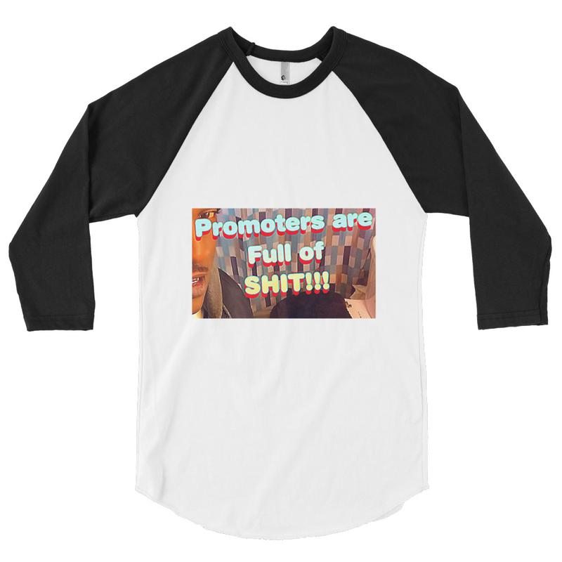 Unisex 3/4 sleeve raglan shirt - Toilet promoters