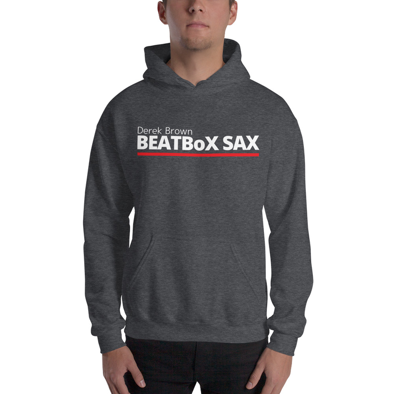 Unisex Hoodie - Derek Brown BEATBoX SAX