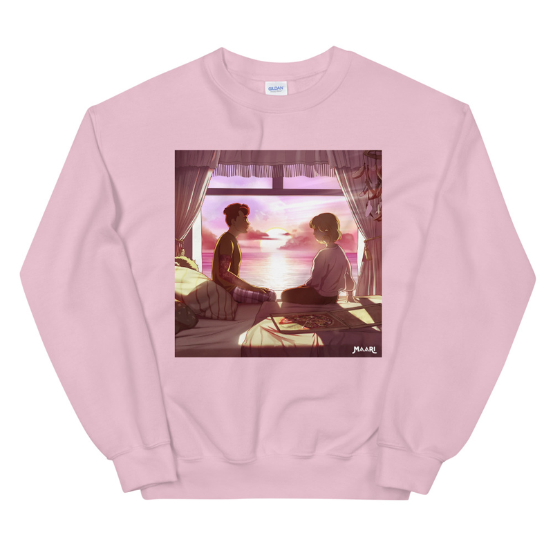 Silver Whispers Crew Neck Jumper