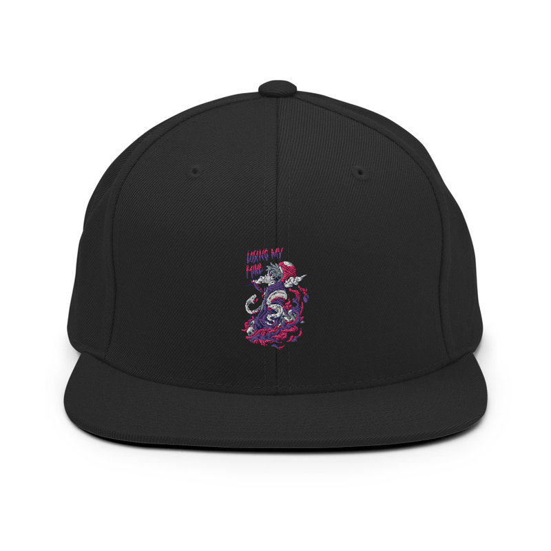 Snapback Losing My Mind Hat